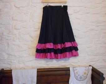 European vintage skirt