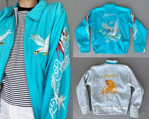 Authentic 1960s Sukajan Jacket RARE Japan Souvenir