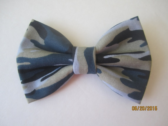 Generic Mens Wedding Party Retro Camouflage Cotton Bow Ties