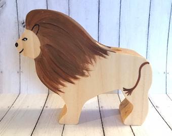 Wooden Lion #1