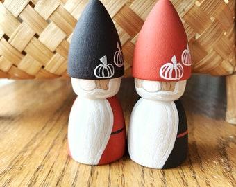 Pumpkin Gnome Set