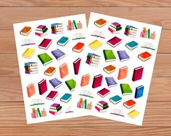 Watercolour Book Decorative Stickers - Die Cuts - Ephemera - Memory Journal - Journalling - Scrapbooking