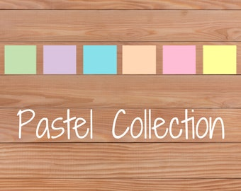 Pastel Collection - Planner Stickers - Happy Planner - Personal Planner - Mini Happy Planner - Diary - Travellers Notebook etc