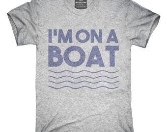 c90b35eb3 Im On A Boat Funny Cruise Ship Vacation Fishing T-Shirt, Hoodie, Tank Top,  Gifts