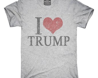 84efe49d468 I Love Trump T-Shirt