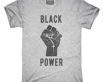 ba5b3bc06f0 Black Power Fist T-Shirt