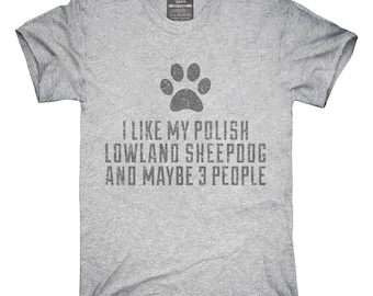 eacf19e5 Funny Polish Lowland Sheepdog T-Shirt, Hoodie, Tank Top, Gifts