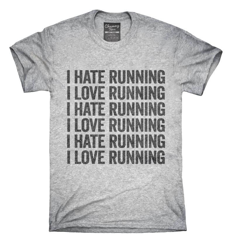 386fad1a6fd Jaime courir je haine drôle T-Shirt Sweat à capuche