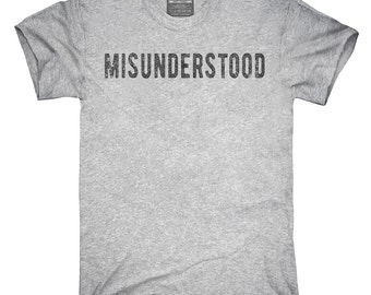 Misunderstood T-Shirt, Hoodie, Tank Top, Gifts