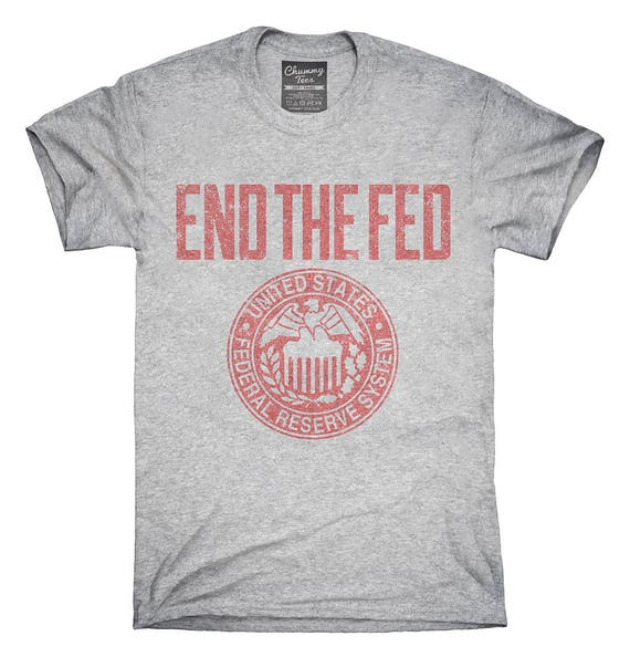 Anti Federal Reserve System Logo T Shirt Hoodie Tank Top Etsy
