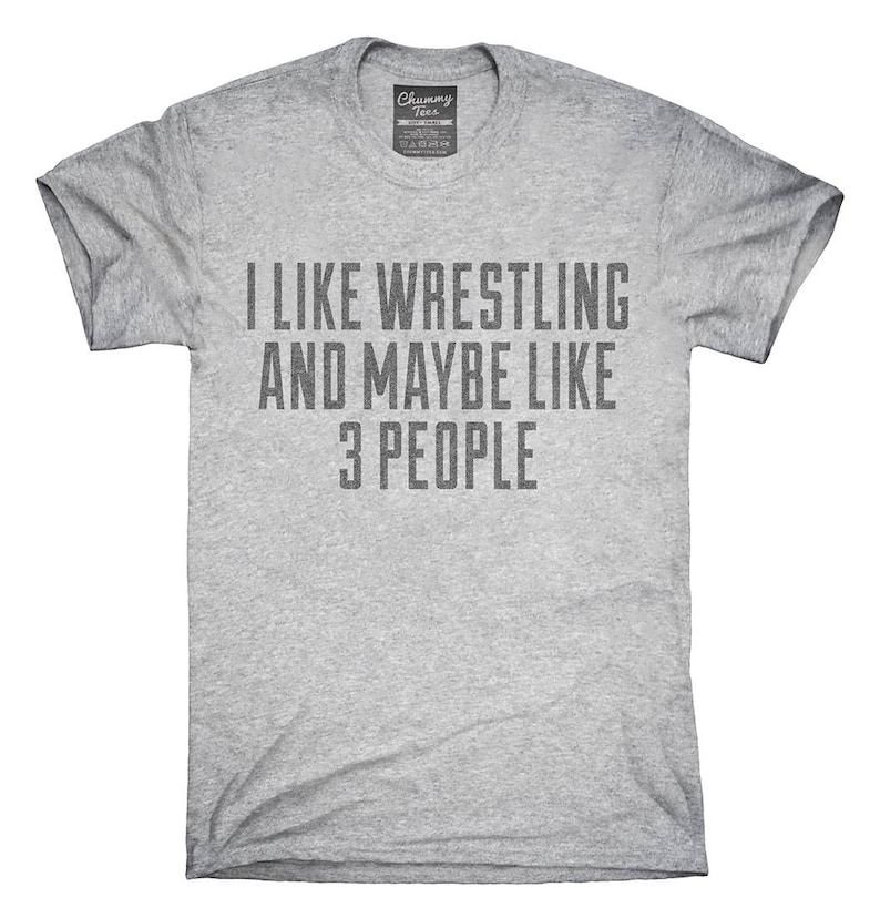 e7ac955ef6 Funny Wrestling T-Shirt Hoodie Tank Top Gifts   Etsy