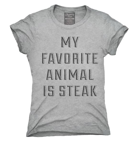 Il Mio Animale Preferito è La Bistecca T Shirt Felpa Con Cappuccio Canotta Regali