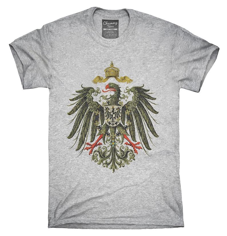 T Cappuccio Felpa 1888 Tedesco Eagle Shirt Con CanottaEtsy ALq45j3R