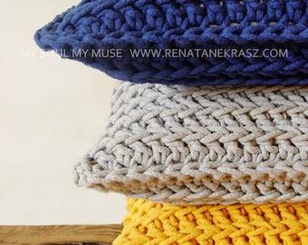 Crochet  pillowcases model 008, crochet cushion, knitted  pillowcases, knitted cushion, pillowcases , cushion