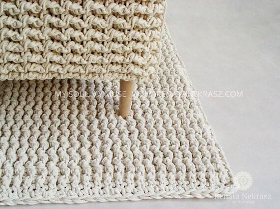 Tappeto Alluncinetto Rettangolare : Ecri cordoncino in cotone tappeto rettangolare tappeto etsy
