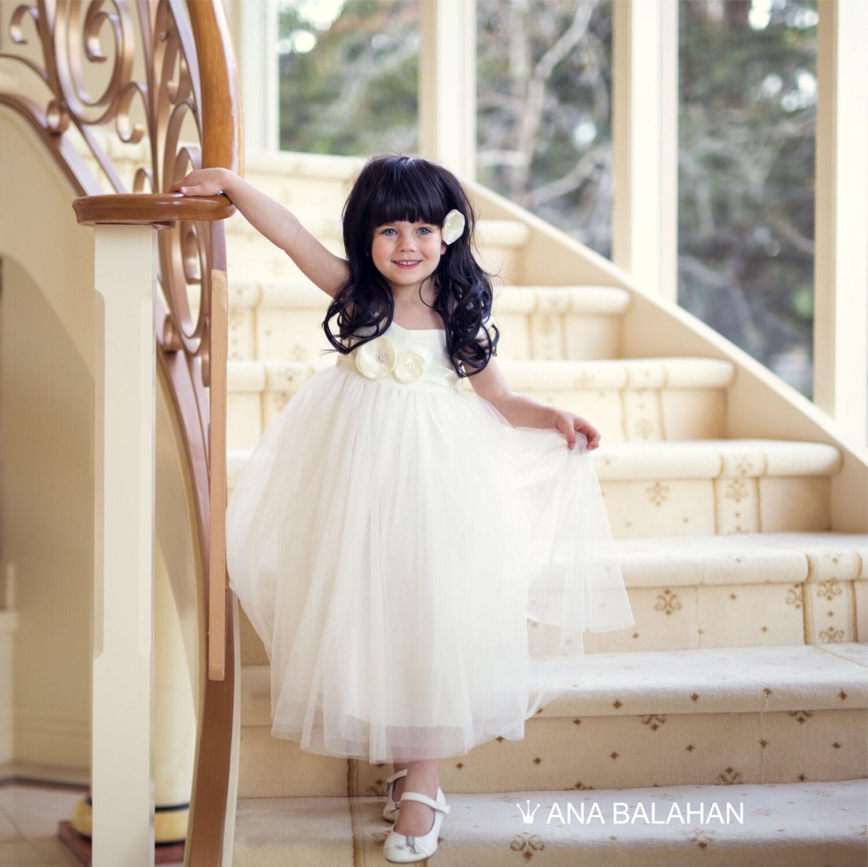 8db773e932da1 Flower girl dress Vintage Classic Romantic Rustic Country | Etsy
