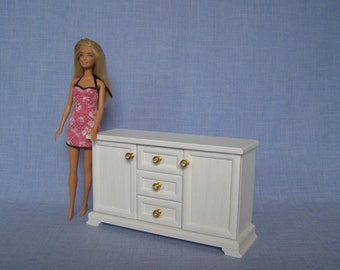 JT/_ Dressing Table Chair Accessories Set For Barbies Dolls Bedroom Furniture D