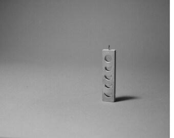 Concrete Phased Pendant