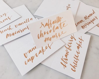 Place Cards+Name Tags /