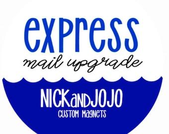 USPS Express Mail Upgrade