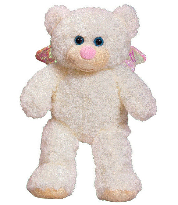 Recordable Angel Teddy Bear For Voice Or Baby Heartbeat Angel Etsy
