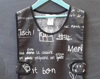 apron - hobby - apron gardening apron - child apron - coated cotton apron - apron