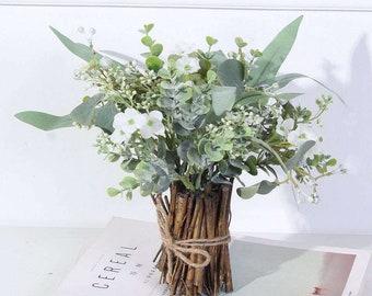 Fake Flower Arrangements Etsy
