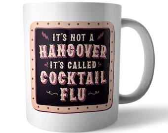 Cocktail Flu Ceramic Mug