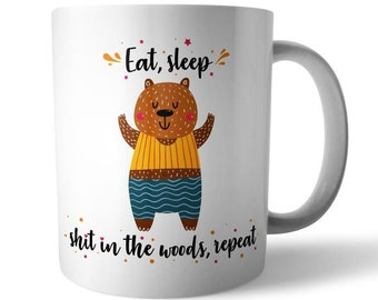 Busy Bear Ceramic Mug