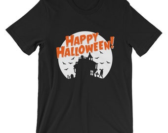 Men's/Unisex Short Sleeve Halloween T-Shirt (Ships from USA & Europe)