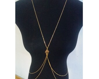 Gold Body Chain | Body Chain Jewelry | Body Chain | Body Chain Necklace | Body Jewelry | Gifts for Her|