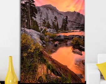 Lake of Fire Tapestry by Chris Miele