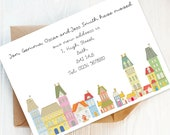 12 Printed Change of Address Cards, New Home Announcements, House Move Cards, New Address Postcards, Personalised. New Home Gift.