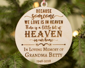 more colors personalized ornament memorial ornament passed away decor in memory memorial gift remembrance gift christmas ornaments personalized
