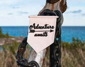 Adventure Awaits Wall Hanging Banner | Hand Made and Embroidered