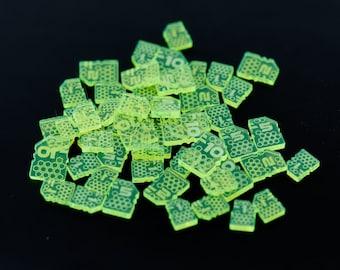 Acrylic Sci-Fi Laser Cut Money