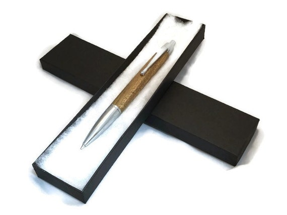 Wooden Click / Propelling Pencil Made from Lignum Vitae Wood.