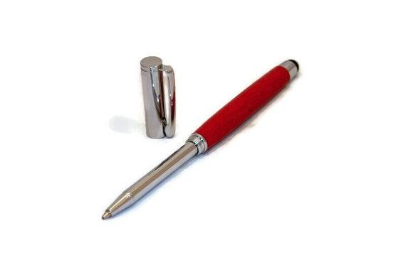Telescopic Mini Ballpoint Pen With Stylus Tip