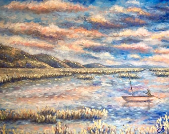 Oil paintings of landscapes on Commission on request