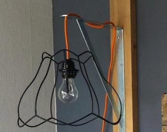 Wandlamp Met Snoer : ᐅ u reality wand lamp scissor xe max w metaal beton