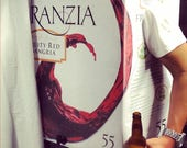 Franzia Box Wine White Zinfandel Home Made Adult Funny Halloween Costume Instruction Mens Womens