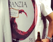 Franzia Box Wine Pinot Grigio Home Made Adult Funny Halloween Costume Instruction Mens Womens