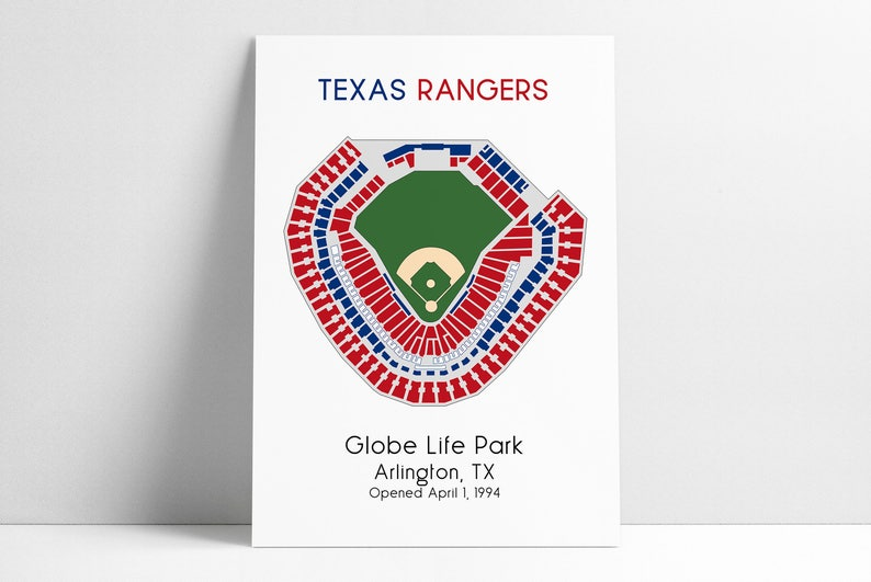 Texas Rangers, MLB Stadium Map, Ballpark Map, Baseball Stadium Map, on globe life park sponsors, globe life park concert, globe life park parking, globe life park tailgating,
