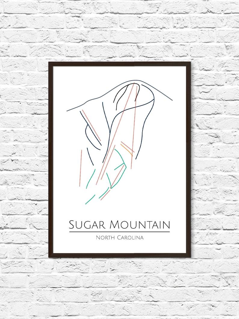 Sugar Mountain NC, Ski Map, Sugar Mountain, Ski Art, Mountain Art, on sapphire valley nc map, nc lake map, nc elevation map, asheville nc map, nc art map, nc terrain map, nc mountain map, nc snow map, nc city map, nc travel map, nc school map, nc water map, nc wine map, beech mountain north carolina map, nc restaurant map, nc beach map, nc boating map, nc golf map, nc fun map, nc camping map,