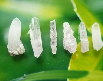 Sale Quartz Amethyst points, 1-2 inches Small Crystals Specimens,