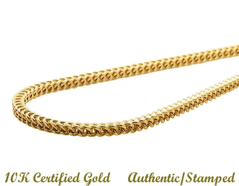 Italian Gold Chain >> 10k Yellow Gold Chain Pure Certified Gold Chain Gold Chain 1 75mm 18 Italian Gold Franco Chain Gorgeous Sure To Get Compliments
