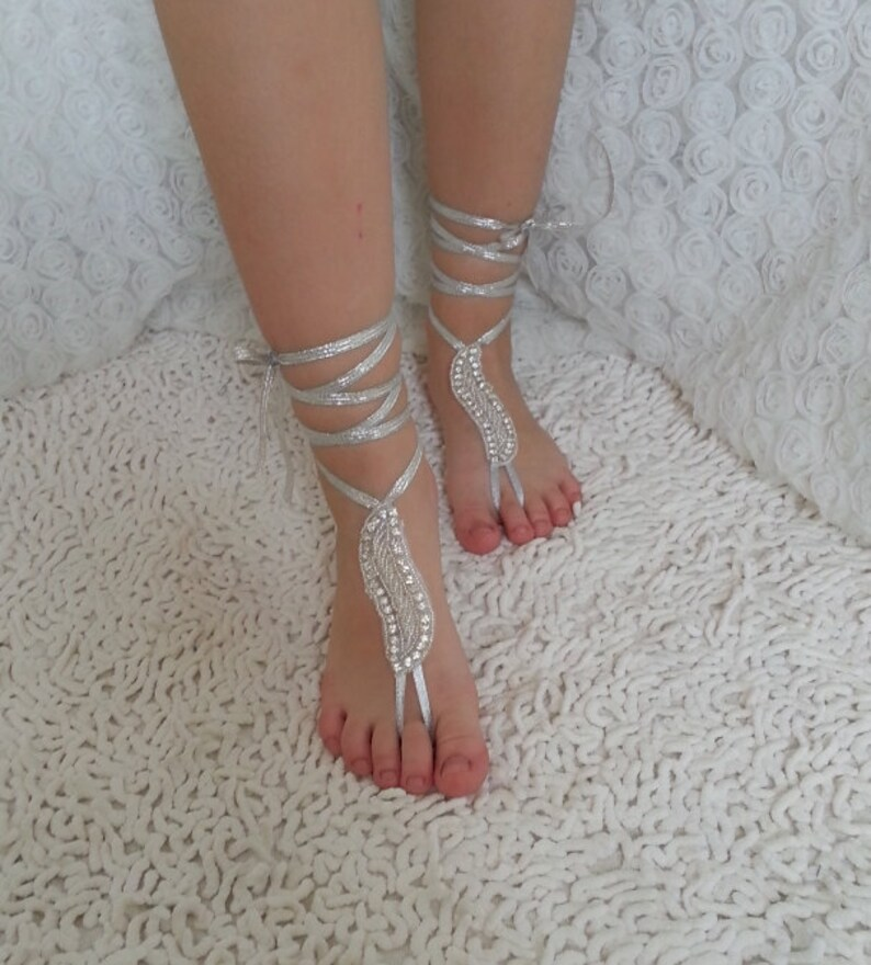 Flower girls rhinestone  anklet Beach wedding barefoot sandals  bangle  wedding flower girl babys children/'s jewelry accessories baptismal