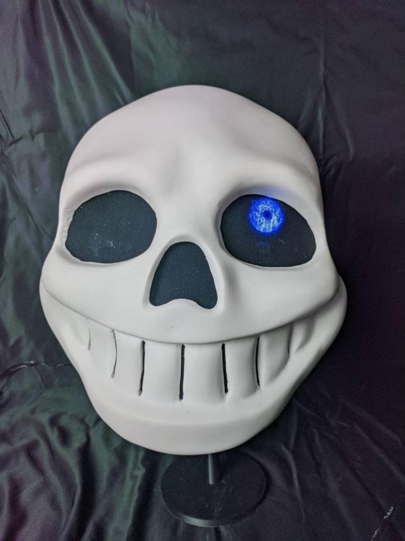 Sans Undertale Full Head Mask V2 0 Etsy