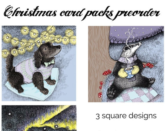 Preorder a pack of Christmas cards