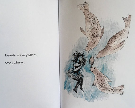 An uplifting story about facing your fears - Dive Down: Drawings from the Deep